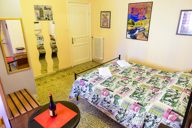 Double room (private bathroom) in Rome | Frendy | Via Conte di Carmagnola 32